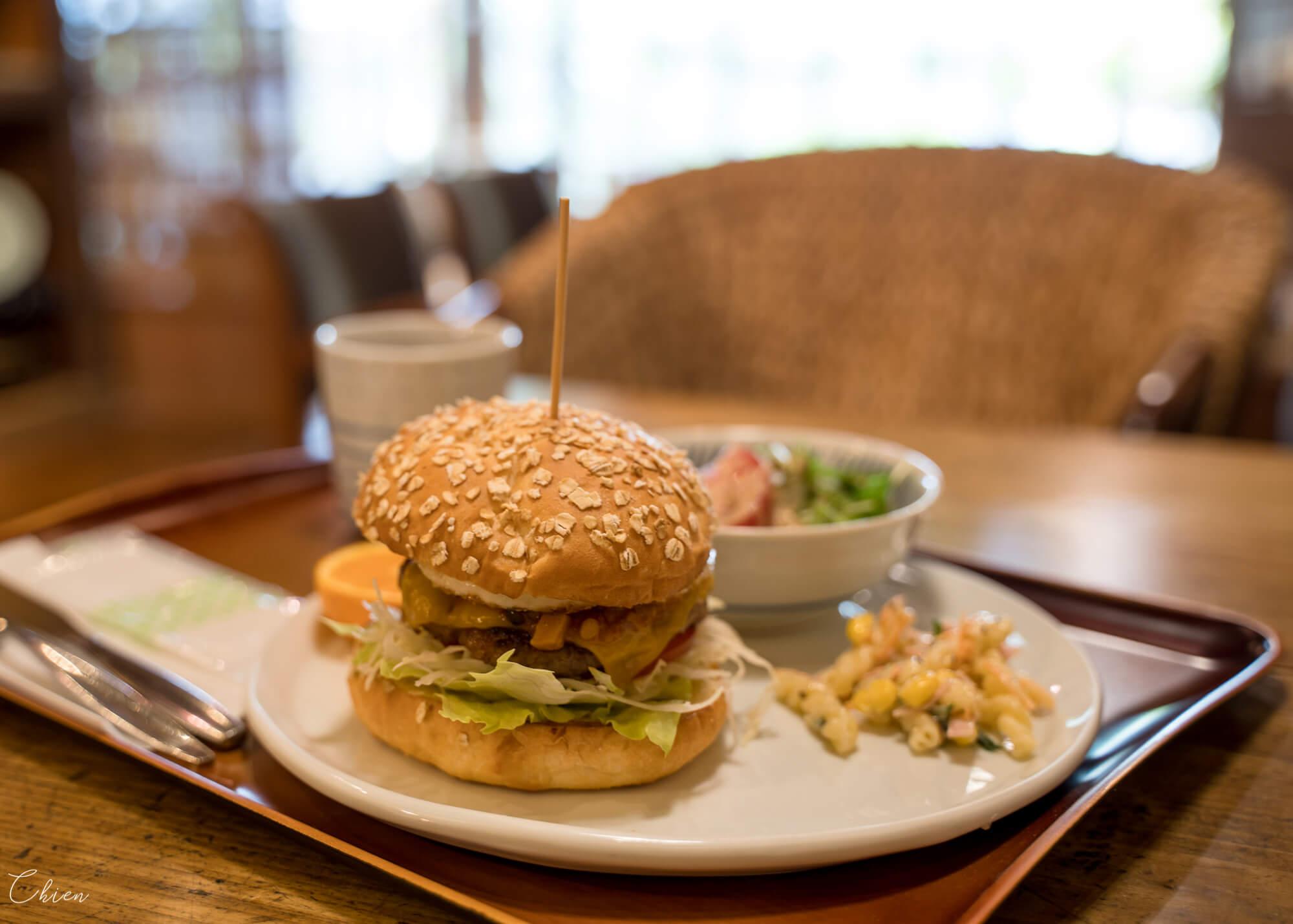 愛媛道後溫泉 漢堡午餐咖啡廳