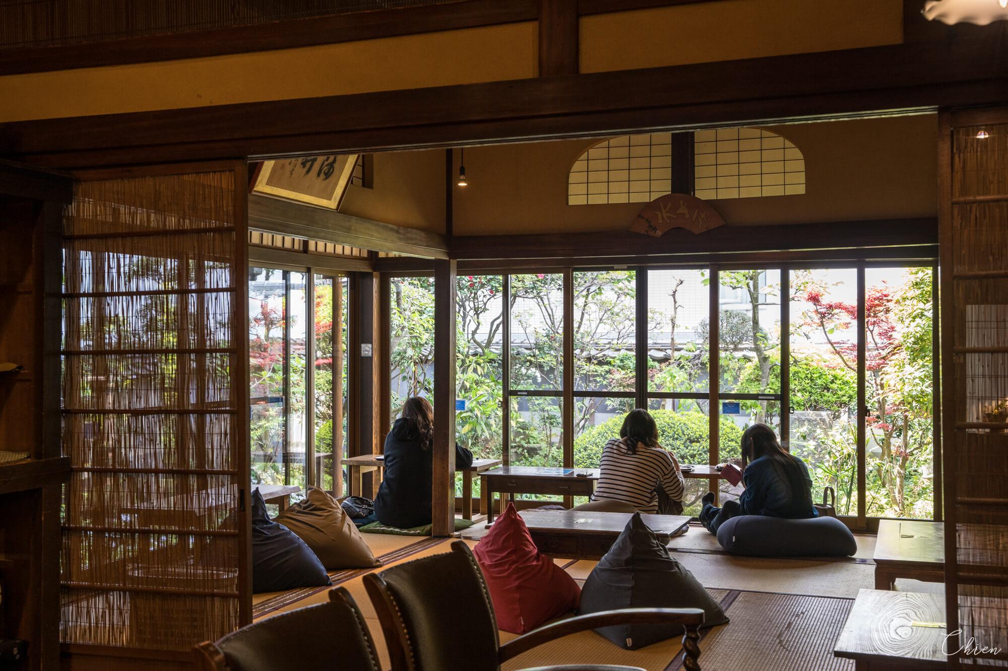 愛媛美食「道後的町屋」古宅咖啡廳