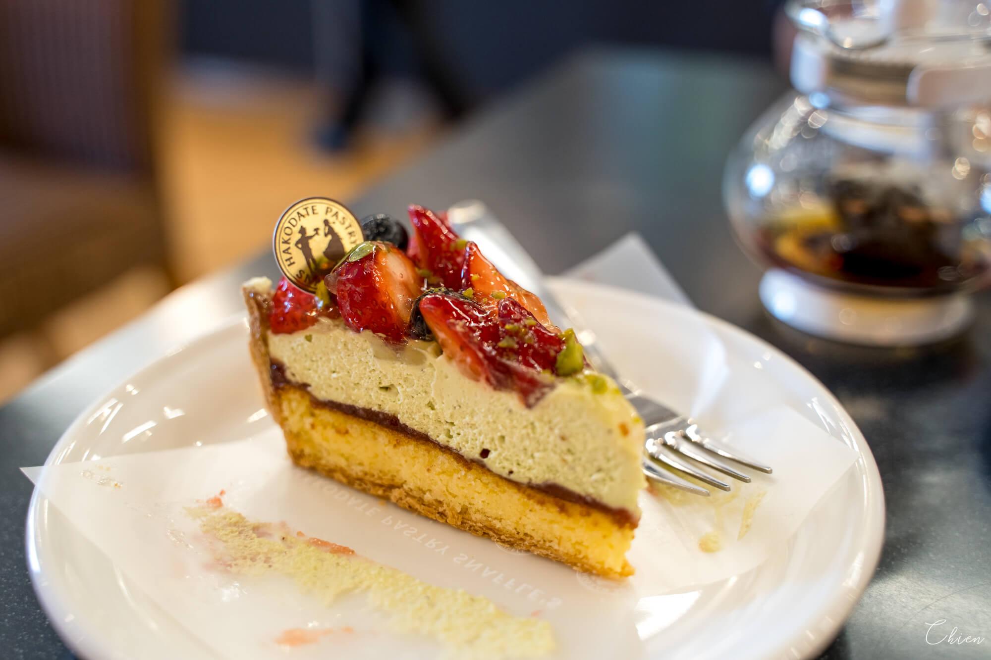 函館下午茶 PASTRY SNAFFLE'S開心果蛋糕