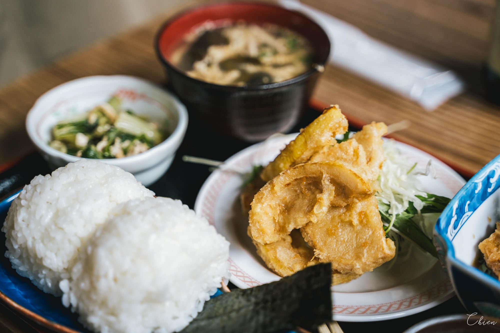香川小豆食堂 手捏飯糰與天婦羅