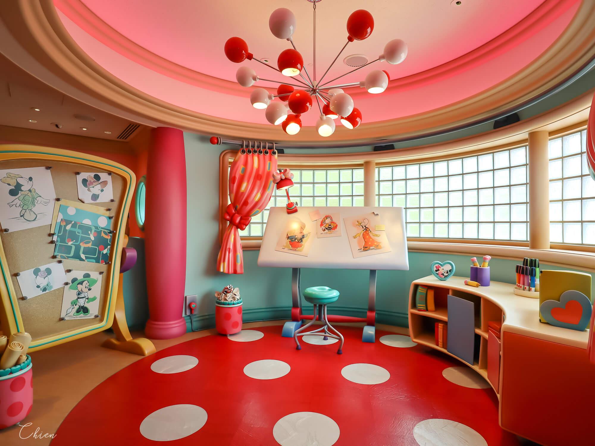 東京迪士尼樂園 米妮時尚工作室3