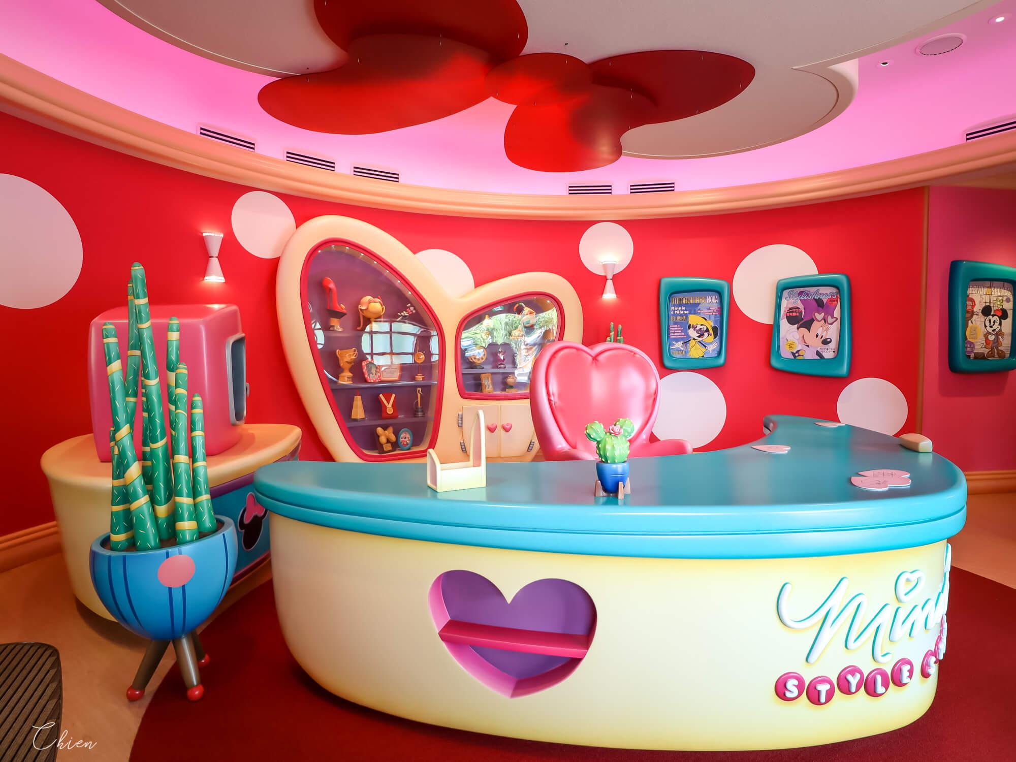東京迪士尼樂園 米妮時尚工作室