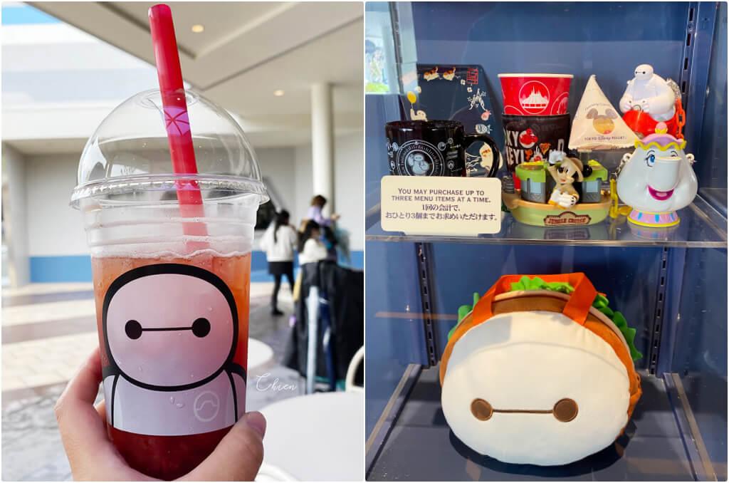 東京迪士尼樂園BAYMAX 杯麵周邊商品2