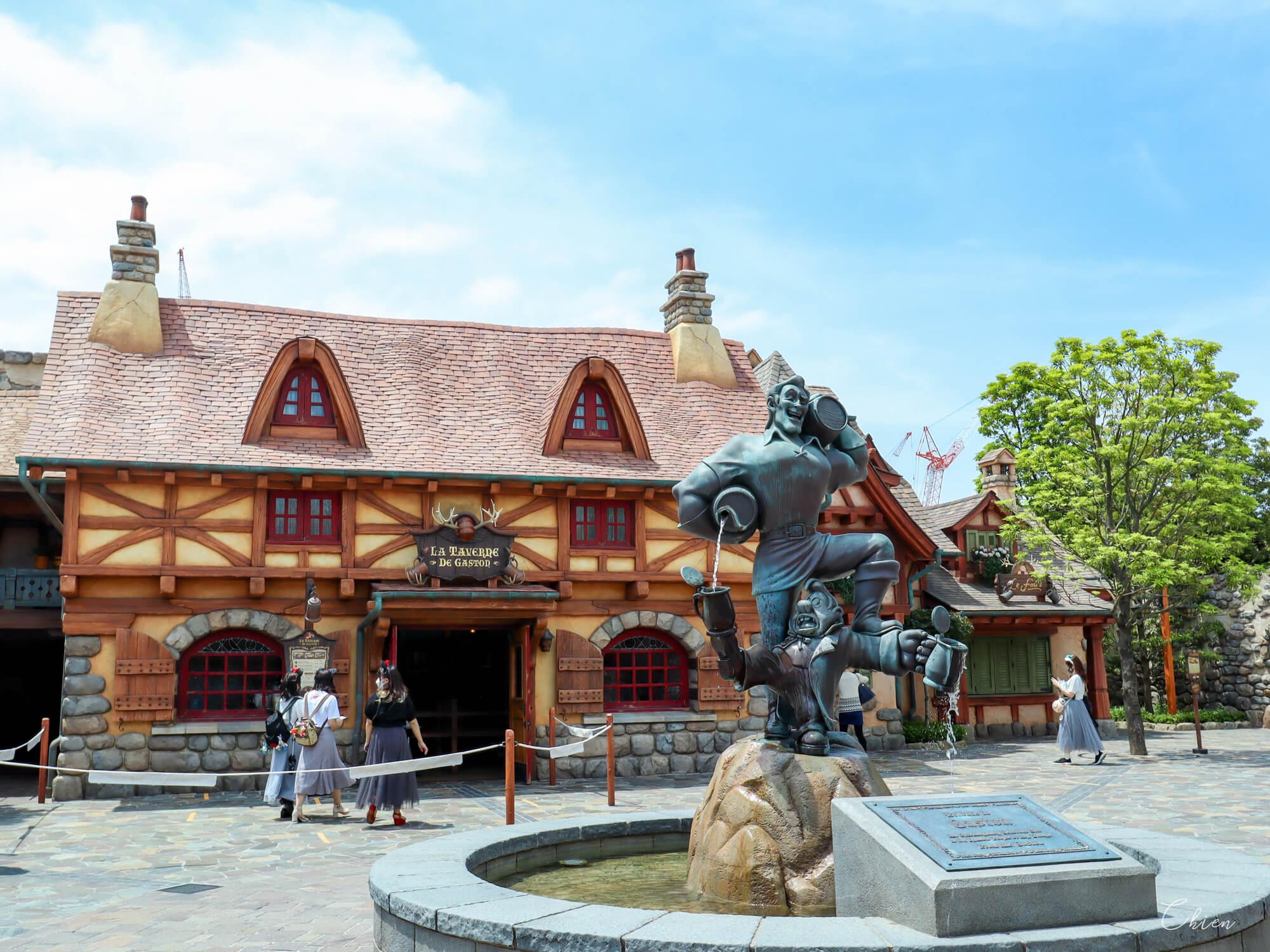 迪士尼樂園 美女與野獸園區