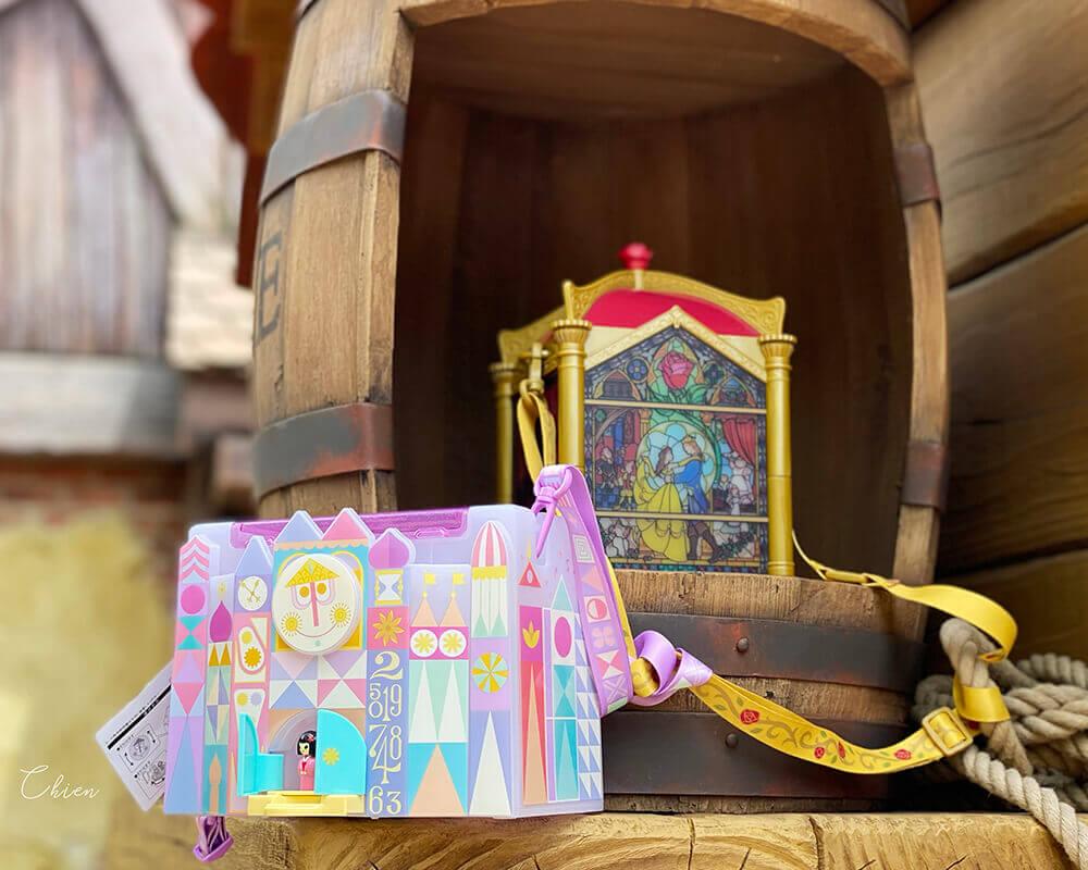 迪士尼樂園 美女與野獸園區爆米花桶