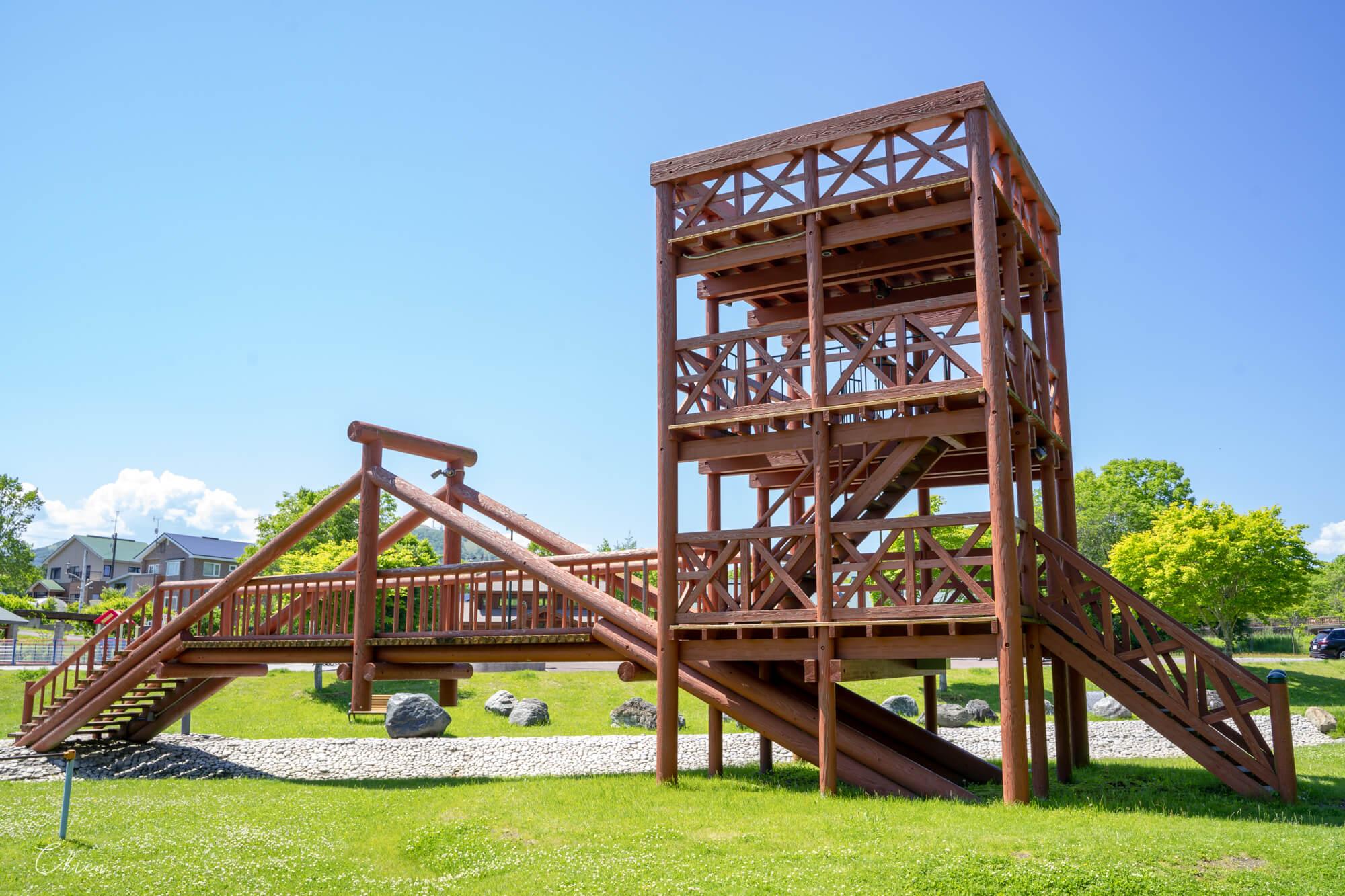 北海道道東 摩周溫泉道路休息站 遊樂設施