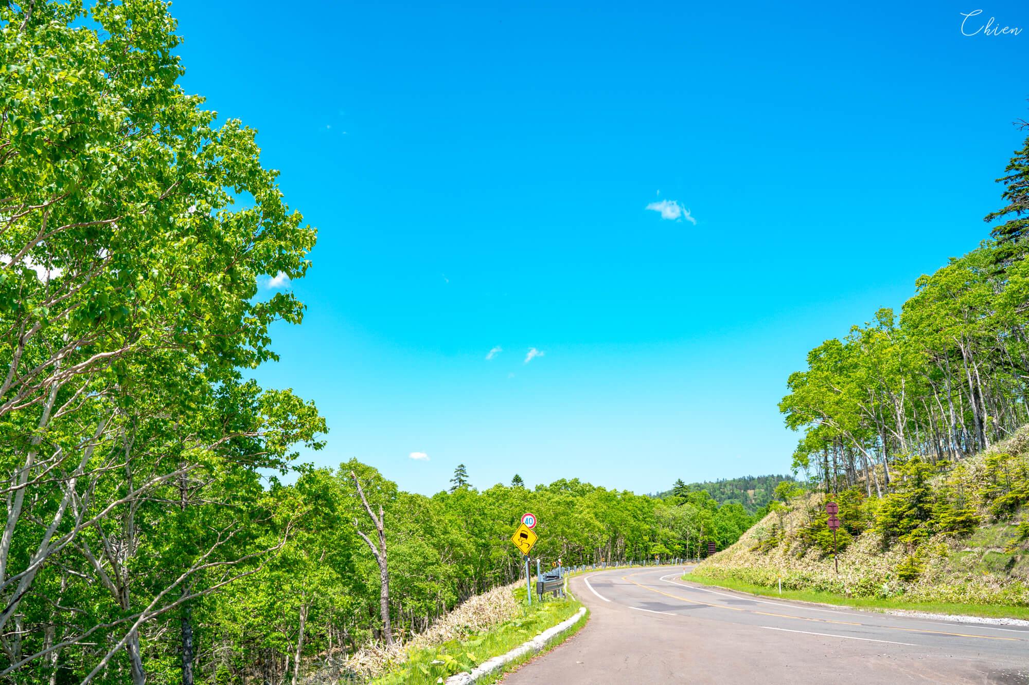 北海道道東自駕旅行 夏天 摩周溫泉道路休息站