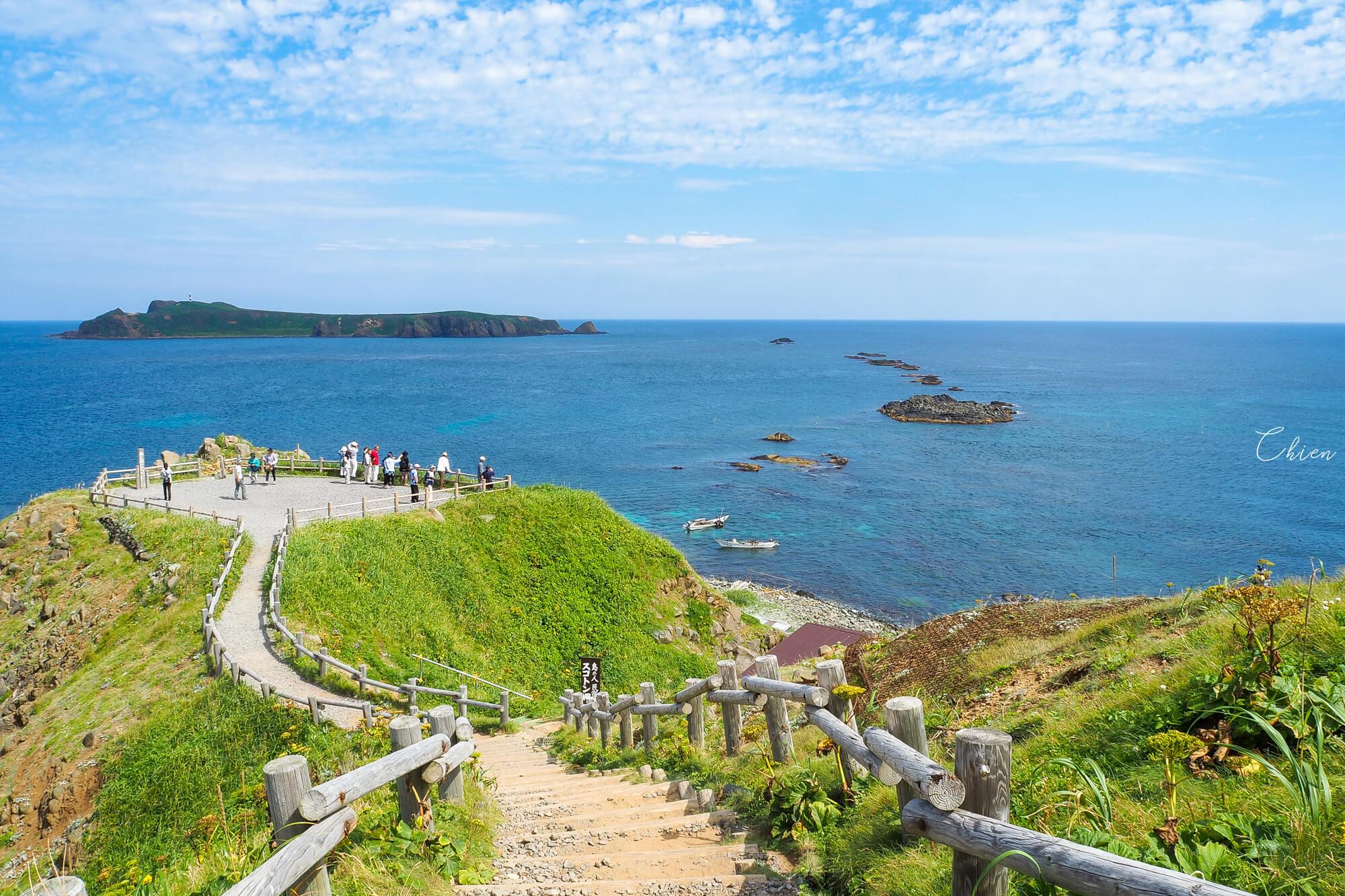 北海道稚內禮文島「須古頓岬」絕景