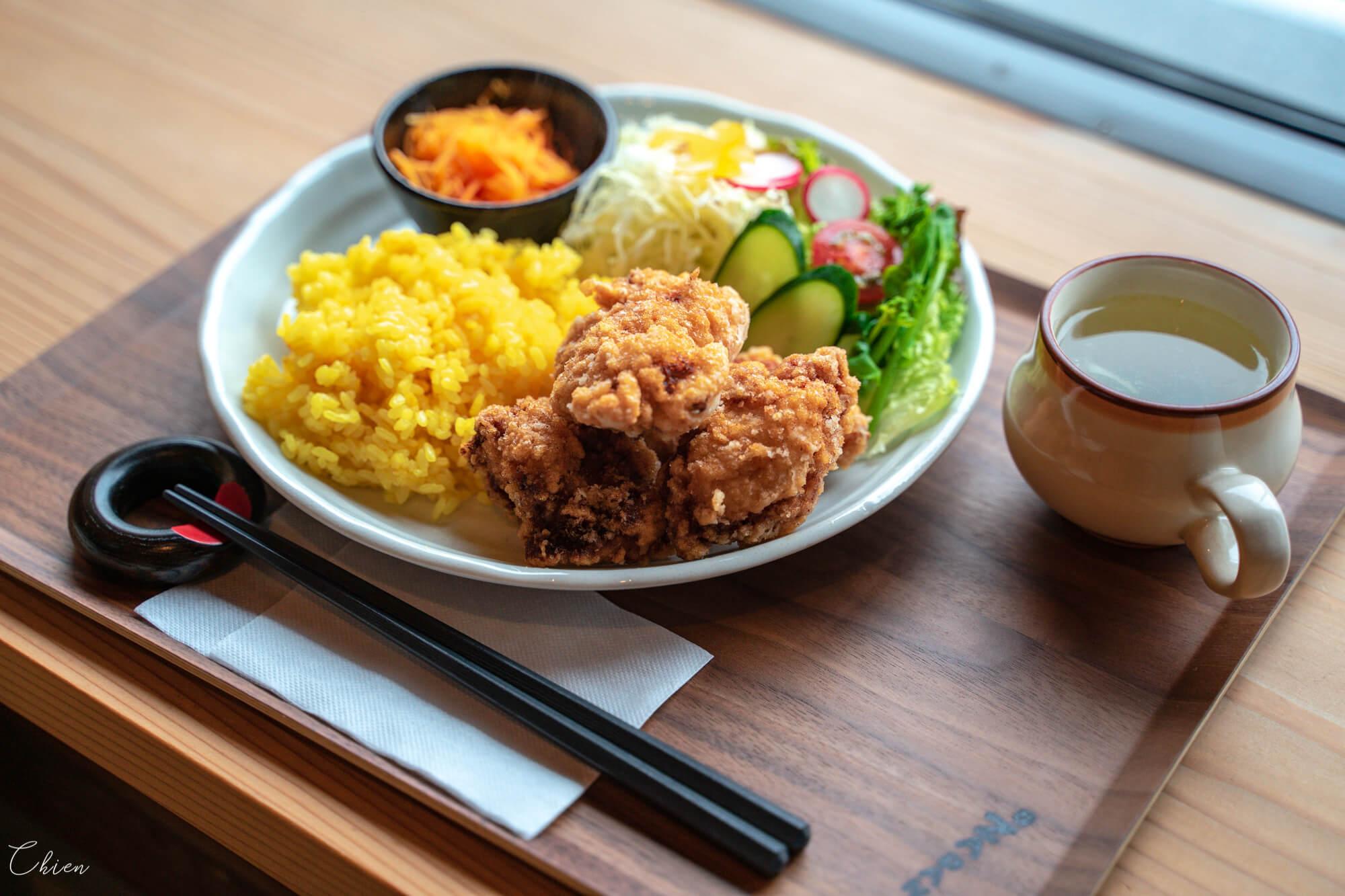 奈良美食午餐 竜田炸雞定食