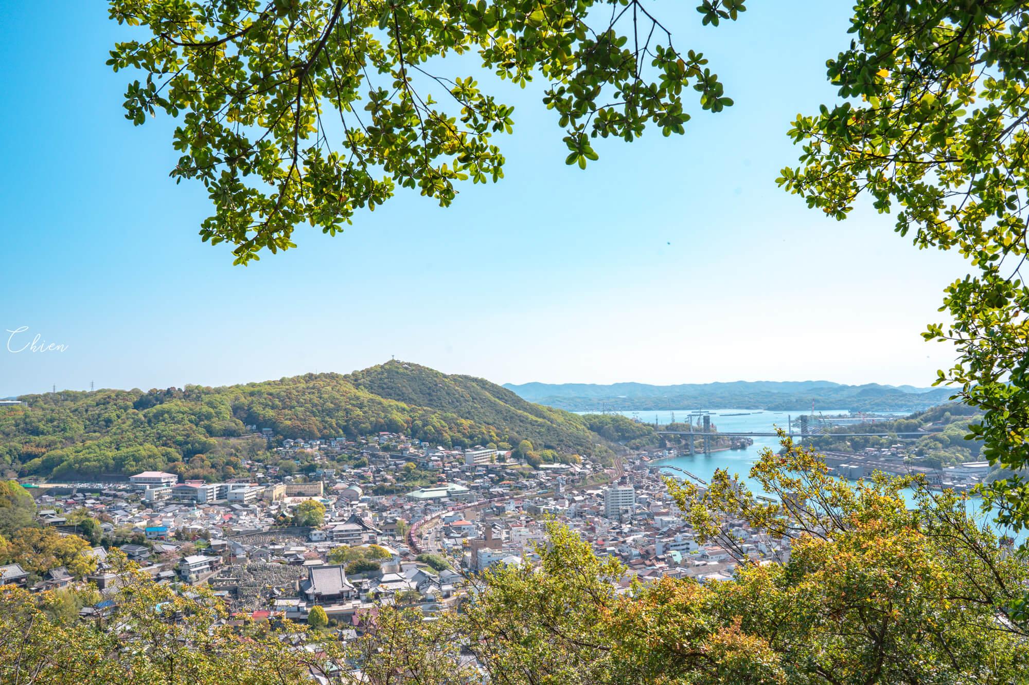 廣島尾道景點散策 瀨戶內海 文學之道2