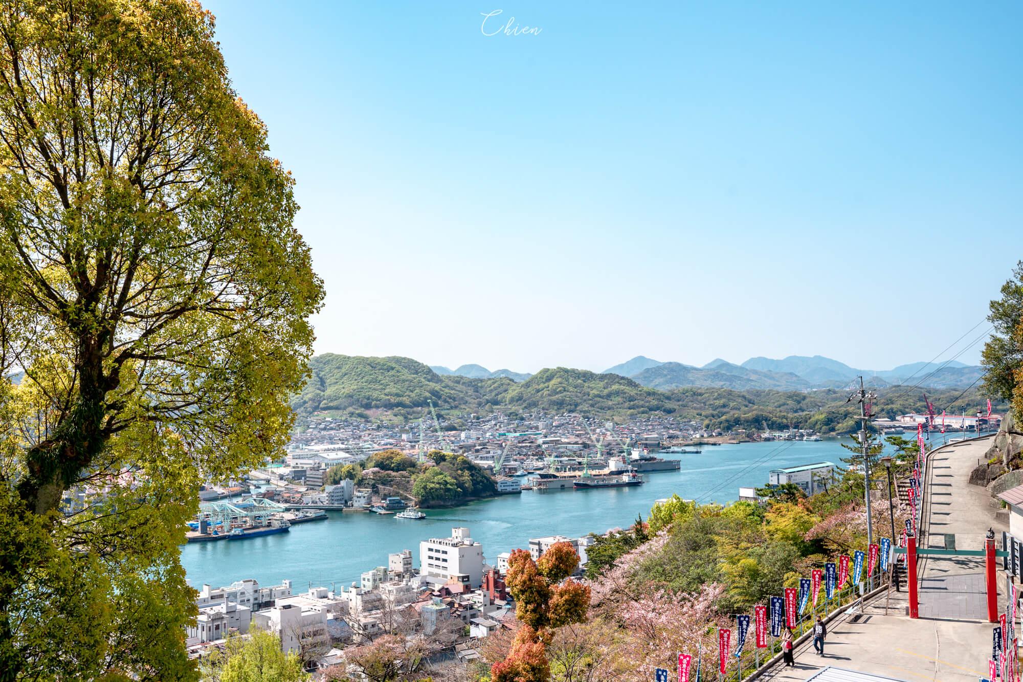 廣島尾道景點散策 櫻花瀨戶內海