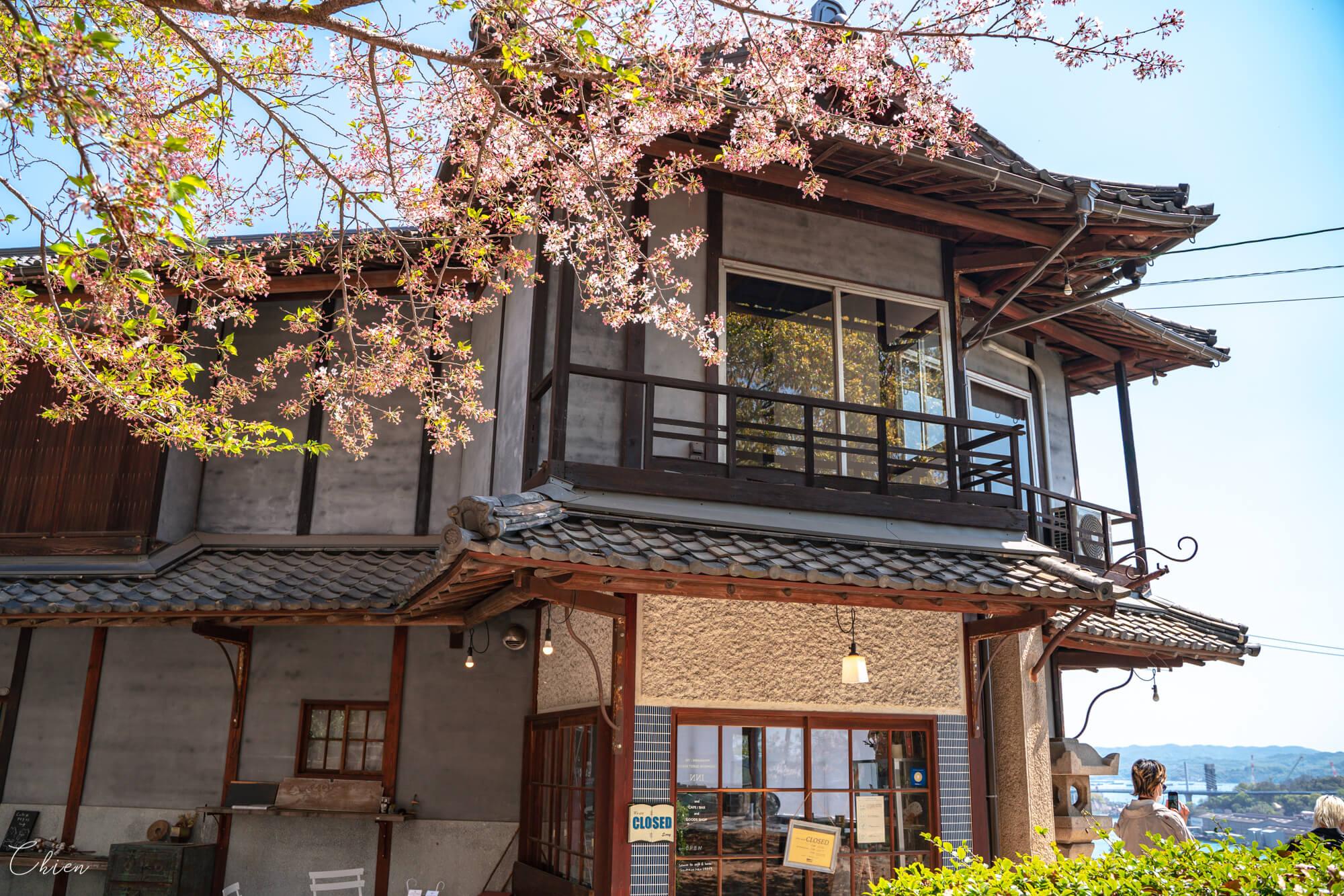 廣島尾道景點散策 見晴亭咖啡、旅館