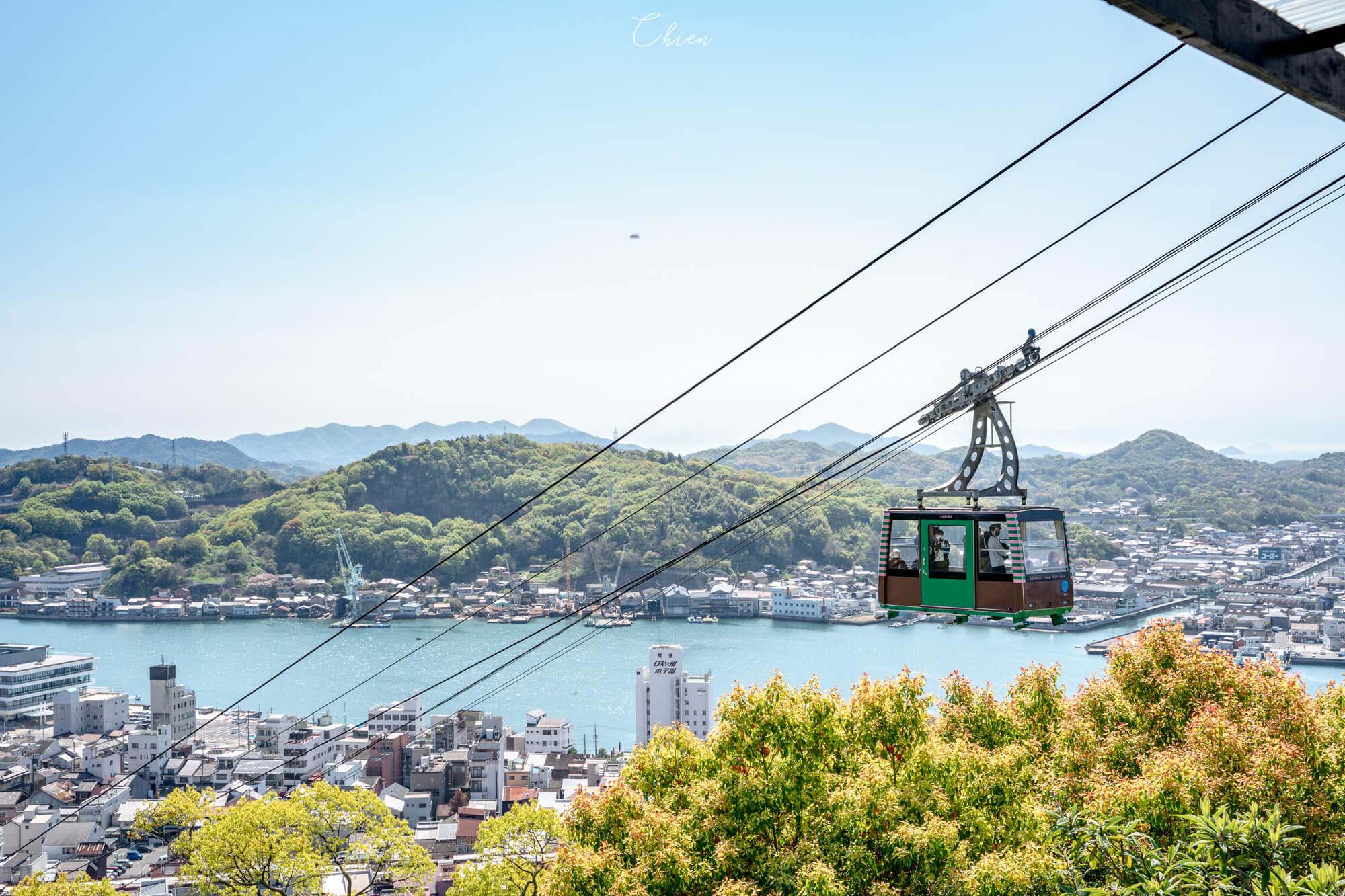 廣島尾道景點散策 千光寺纜車