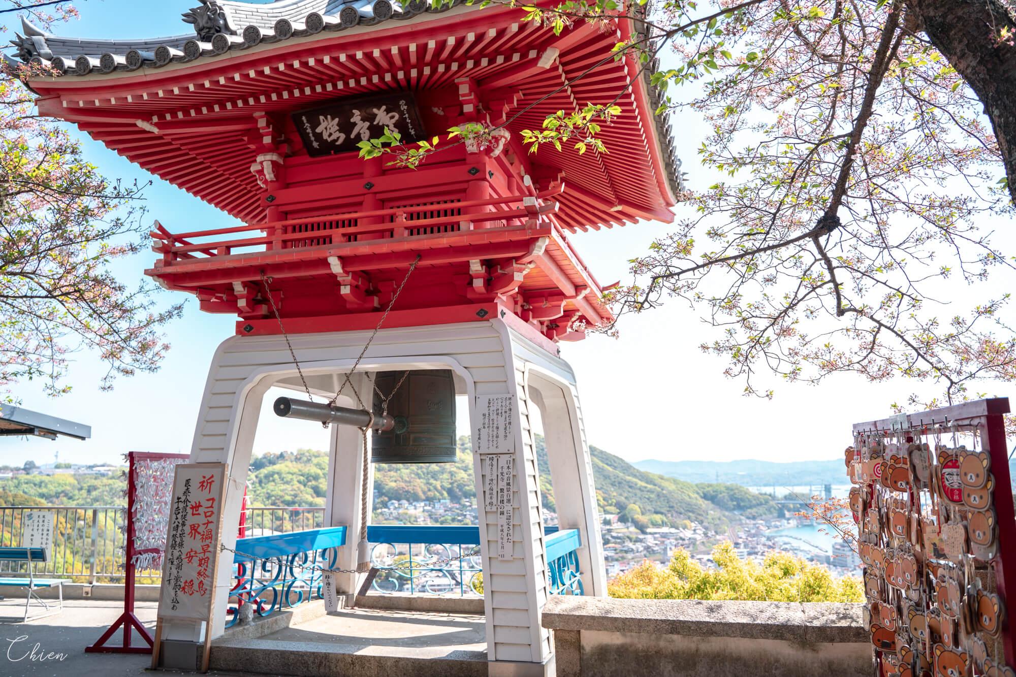 廣島尾道景點散策 瀨戶內海 千光寺
