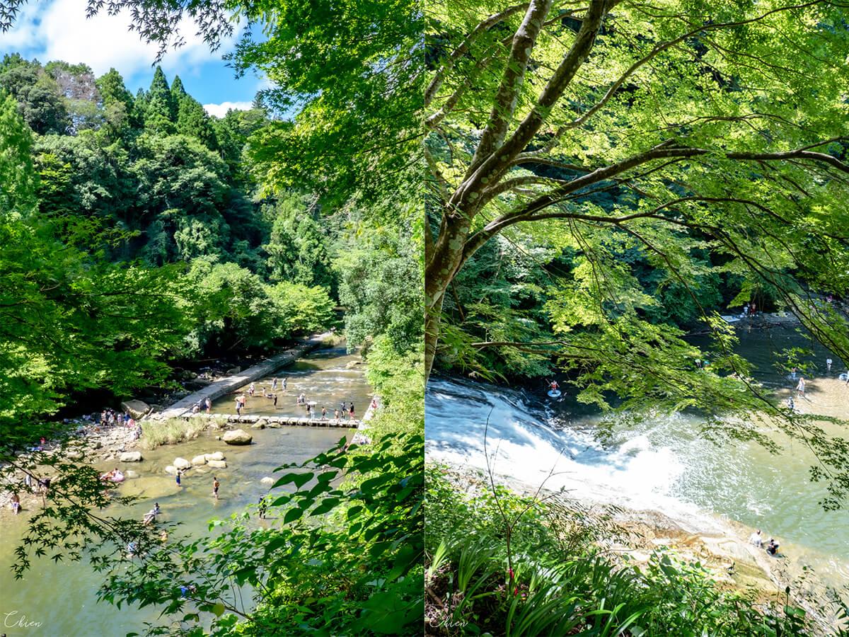千葉養老溪谷 夏季景點