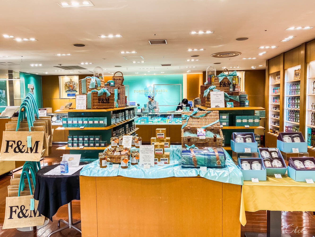 日本三越本店 地下美食街:Fortnum&Mason Concept Shop 英式下午茶