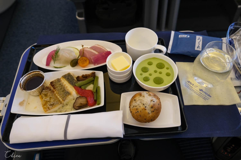 羽田HND松山TSA ANA全日空商務艙飛機餐
