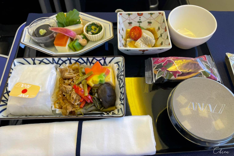 羽田松山 ANA全日空商務艙飛機餐