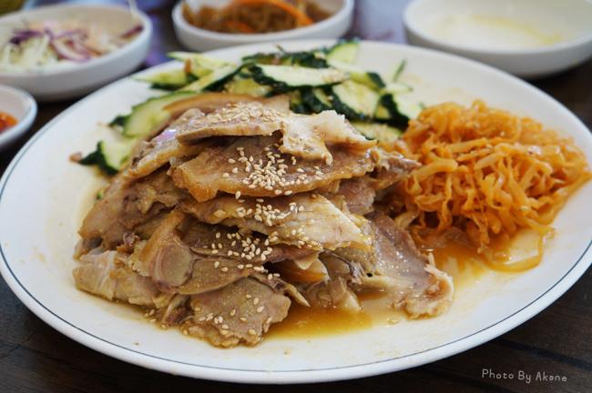【韓國釜山】元祖漢陽豬腳 한양족발 嗆辣的冷菜豬腳