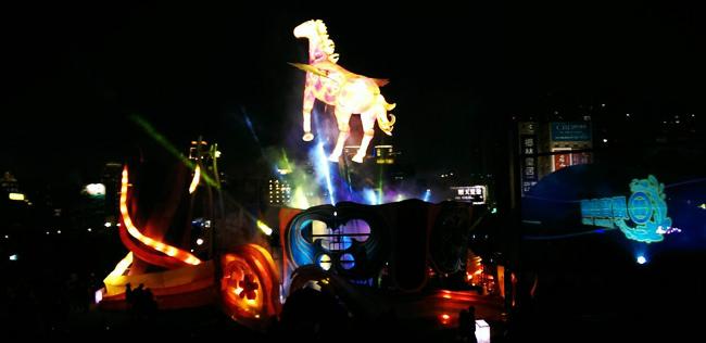 【台中】「飛馬獻瑞耀臺中」中臺灣元宵燈會