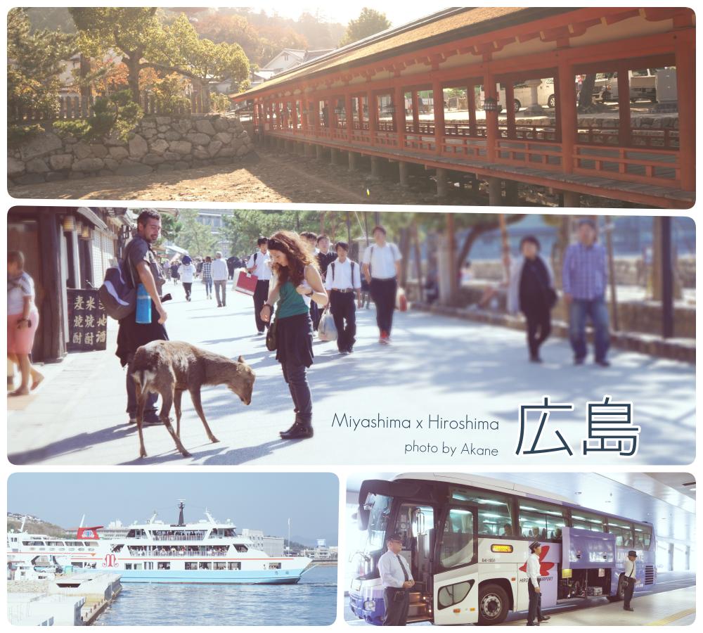 【廣島】廣島交通手段:機場→JR廣島站→宮島口站→宮島
