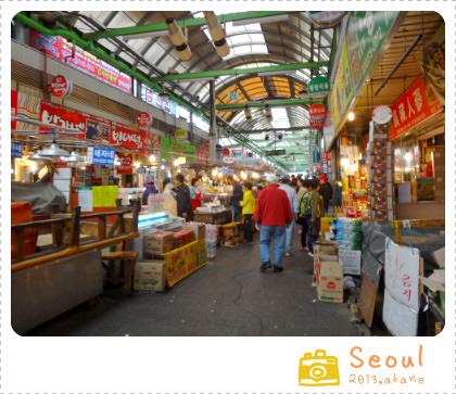 【2013首爾自助】廣藏市場 광장시장-嚐嚐道地的韓國小吃