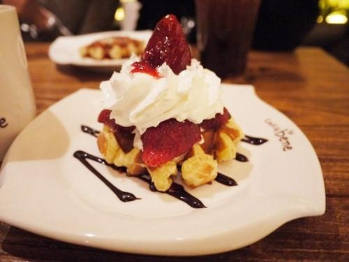 【食記】首爾Caffe Bene 카페베네 超美味鬆餅