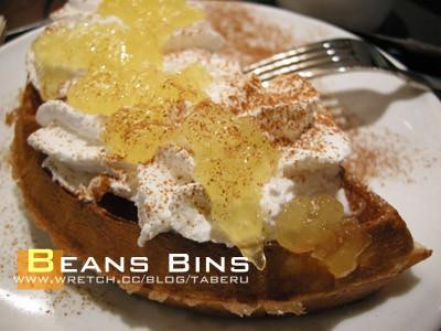【韓國首爾】明洞站 BEANSBINS(빈스빈스커피) 鬆餅/咖啡