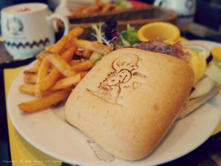 【台中西屯】查理布朗咖啡Charlie Brown Café 史努比主題餐廳(餐點篇)