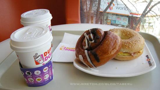 【韓國連鎖】Dunkin donuts(던킨도너츠) 和臺灣不一樣的甜甜圈