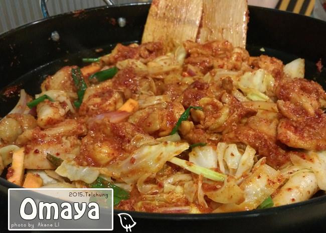 【台中西區】Omaya麻藥瘋雞(公益店)春川辣炒雞排/起司辣醬炸雞
