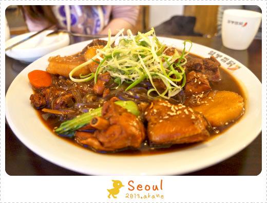 【韓國連鎖】首爾 Seven烈鳳燉雞(열봉찜닭) 甜甜辣辣,超下飯!
